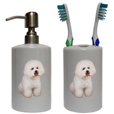 Bichon Bathroom Set