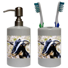 Goat Bathroom Set