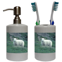 Sheep Bathroom Set