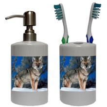 Coyote Bathroom Set