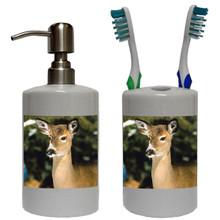 Deer Bathroom Set