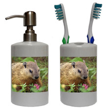 Groundhog Bathroom Set