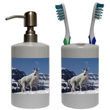 Mountain Goat Bathroom Set