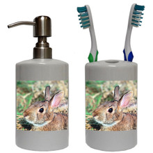 Rabbit Bathroom Set