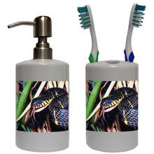Mangrove Snake Bathroom Set