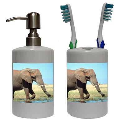 Elephant Bathroom Set