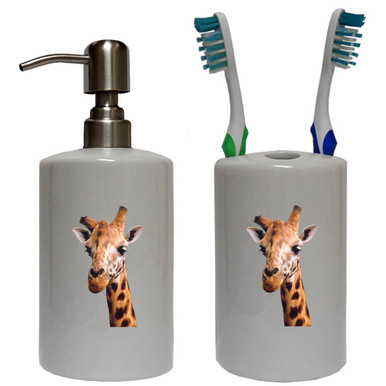 Giraffe Bathroom Set
