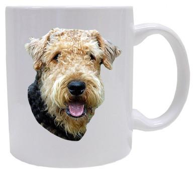 I Love My Airedale Coffee Mug