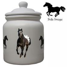 Appaloosa Ceramic Color Cookie Jar