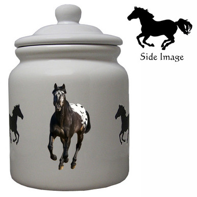 Appaloosa Ceramic Color Cookie Jar