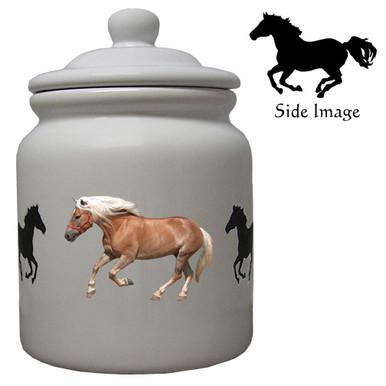 Haflinger Ceramic Color Cookie Jar