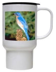 Bluebird Polymer Plastic Travel Mug