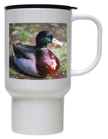 Duck Polymer Plastic Travel Mug