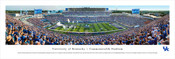 Kentucky Wildcats at Commonwealth Stadium Panorama Poster