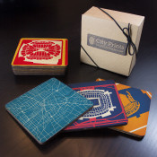 Houston Sports Teams Wooden Coaster Set