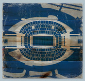 AT&T Stadium Print on Reclaimed Wood