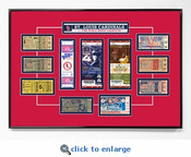 St Louis Cardinals Tickets to History - Replica Ticket Frame
