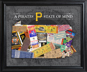 Pittsburgh Pirates State of Mind Framed Print