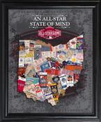 2015 MLB All-Star Game State of Mind Framed Print
