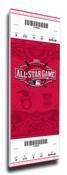 2015 MLB All-Star Game Canvas Mega Ticket - Cincinnati Reds
