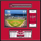 2015 MLB All-Star Game Ticket Frame Jr - Cincinnati Reds