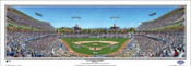 """Los Angeles Dodgers"" Dodger Stadium Panoramic Framed Poster"