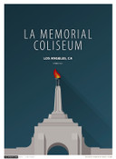 USC Trojans - Los Angeles Coliseum Simple Print