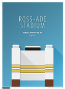 Purdue Boilermakers - Ross Ade Stadium Simple Print