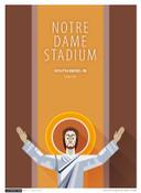 Notre Dame Fighting Irish - Notre Dame Stadium Simple Print