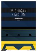 Michigan Wolverines - Michigan Stadium Simple Print