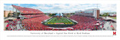 Maryland Terrapins at Byrd Stadium Panorama Poster