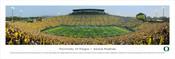 """""""Oregon vs. Michigan State"""" Autzen Stadium Panorama Poster"""