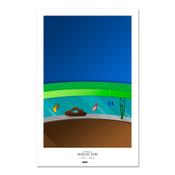 Miami Marlins - Marlins Park Art Poster