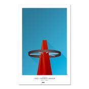 Los Angeles Angels - Angel Stadium Art Poster