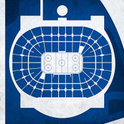 Tampa Bay Lightning - Tampa Bay Times Forum City Print