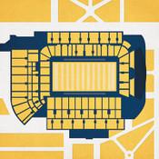 Georgia Tech Yellow Jackets - Bobby Dodd Stadium City Print