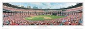 """Last Pitch at Busch Stadium"" St Louis Cardinals Panorama Poster"