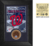 Washington Nationals Infield Dirt Coin Mini Mint