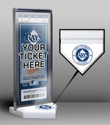 Tampa Bay Rays My First Game Ticket Display Stand