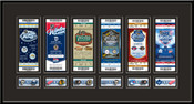 2014 NHL Winter Classic Tickets to History Replica Ticket Frame