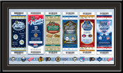2014 NHL Winter Classic Tickets to History Framed Print