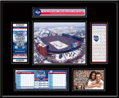 2014 NHL Winter Classic Ticket Frame - Maple Leafs vs Red Wings