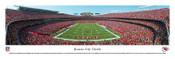 Kansas City Chiefs at Arrowhead Stadium Panoramic Poster