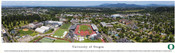 University of Oregon Campus Panorama Poster
