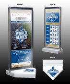 2015 World Series Champions Commemorative Ticket Display