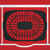 Chicago Blackhawks - United Center City Print