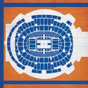 New York Knicks - Madison Square Garden City Print