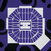 Sacramento Kings - Sleep Train Arena City Print