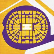 Los Angeles Lakers - Staples Center City Print