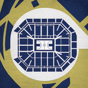 Pittsburgh Panthers - Petersen Events Center City Print